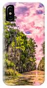 Louisiana Bayou Sunrise IPhone Case