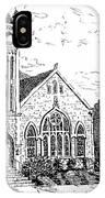Louisianna Church 1 IPhone Case