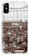 Lounge At The Plaza Hotel IPhone Case