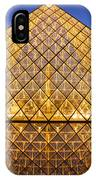 Louvre Pyramid IPhone Case