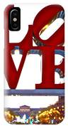 Love In Philadelphia IPhone Case