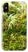 Lovely Green Lichen IPhone Case