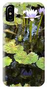 Loving Lilypads IPhone Case