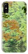 Loving The Season Of Autumn IPhone Case