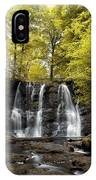 Low Angle View Of A Waterfall In A IPhone Case