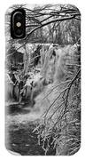 Lower Akron Falls 9713 IPhone Case