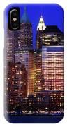 Lower Manhattan IPhone Case