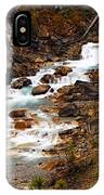 Lower Twin Falls IPhone Case