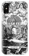 Lully: Armide, 1686 IPhone Case
