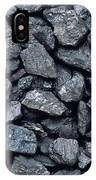 Lumps Of High-grade Anthracite Coal IPhone Case