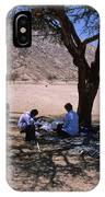 Lunchtime In The Desert Of Sinai IPhone Case