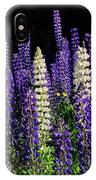 Lupine Flowers IPhone Case