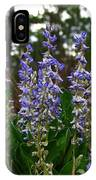 Lupine Patch IPhone Case