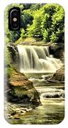Lush Lower Falls IPhone Case