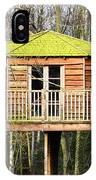 Luxury Tree House In The Woods IPhone Case