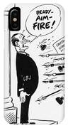 Lyndon B. Johnson: Cartoon IPhone Case