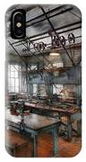 Machinist - Steampunk - The Contraption Room IPhone Case