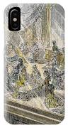 Macys Holiday Display, 1876 IPhone Case