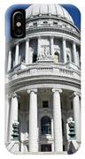Madison Capitol Building IPhone Case