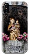 Madonna And Child Arch IPhone Case