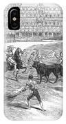 Madrid: Bullfight, 1846 IPhone Case