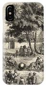 Magdeburg Hemispheres, 17th Century IPhone Case