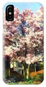 Magnolia Near Green House IPhone Case