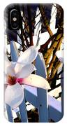 Magnolis's On A Picket Fence IPhone Case