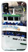 Maid Of The Mist Boat At Niagara Falls IPhone Case