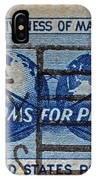Mail Early For Christmas And Peace IPhone Case