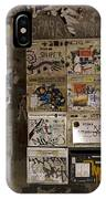 Mailboxes With Graffiti IPhone Case
