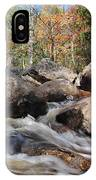 maine 29 Baxter State Park Trailside Stream IPhone Case