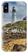 Maine Head Light IPhone Case