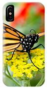 Majestic Monarch IPhone Case