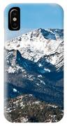 Majestic Rockies IPhone Case