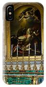 Malachite And Lapis Lazuli Altar IPhone Case