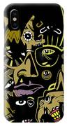 Malcolm X Full Color IPhone Case