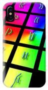 Male Chromosome Set IPhone Case