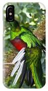 Male Resplendent Quetzal IPhone Case