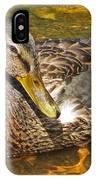 Mallard Duck IPhone Case