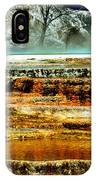 Mammoth Terrace - Yellowstone IPhone Case