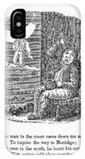 Man In The Moon, 1833 IPhone Case