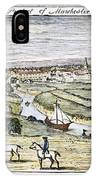 Manchester, England, 1740 IPhone Case