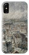 Manchester, England, 1876 IPhone Case