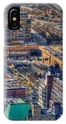 Manhattan Lincoln Tunnel Entrance IPhone Case