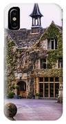 Manor House At Castle Combe  IPhone Case