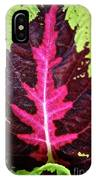 Many Leaves Of Coleus IPhone Case