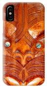 Maori Mask One IPhone Case
