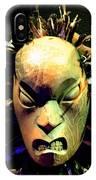 Maori Mask Two IPhone Case