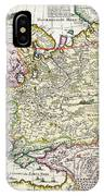 Map Of Asia Minor IPhone Case